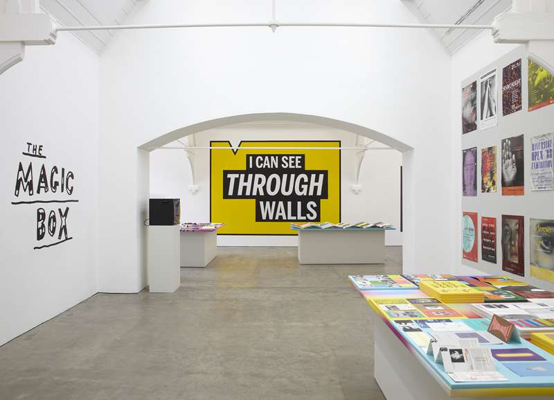 'The Graphic Design of Tony Arefin', curated by James Langdon, Ikon Gallery (2012)